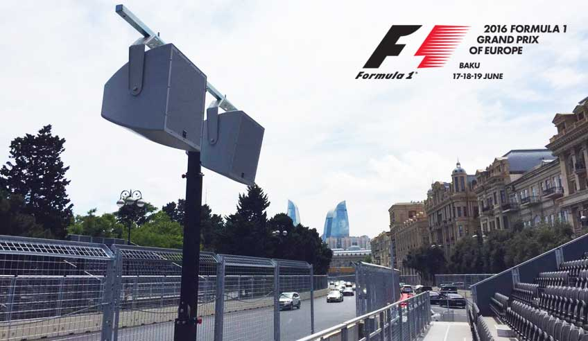 FORMULA 1 is coming! 48 FENIX Stage's lifting towers are ready for a new sport event