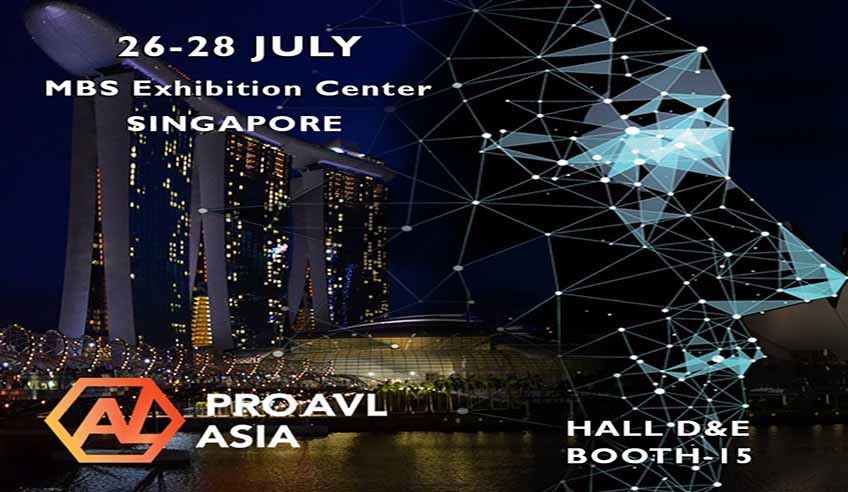 FENIX Stage travels to Singapore together with his exclusive distributor Lighting and Sound!