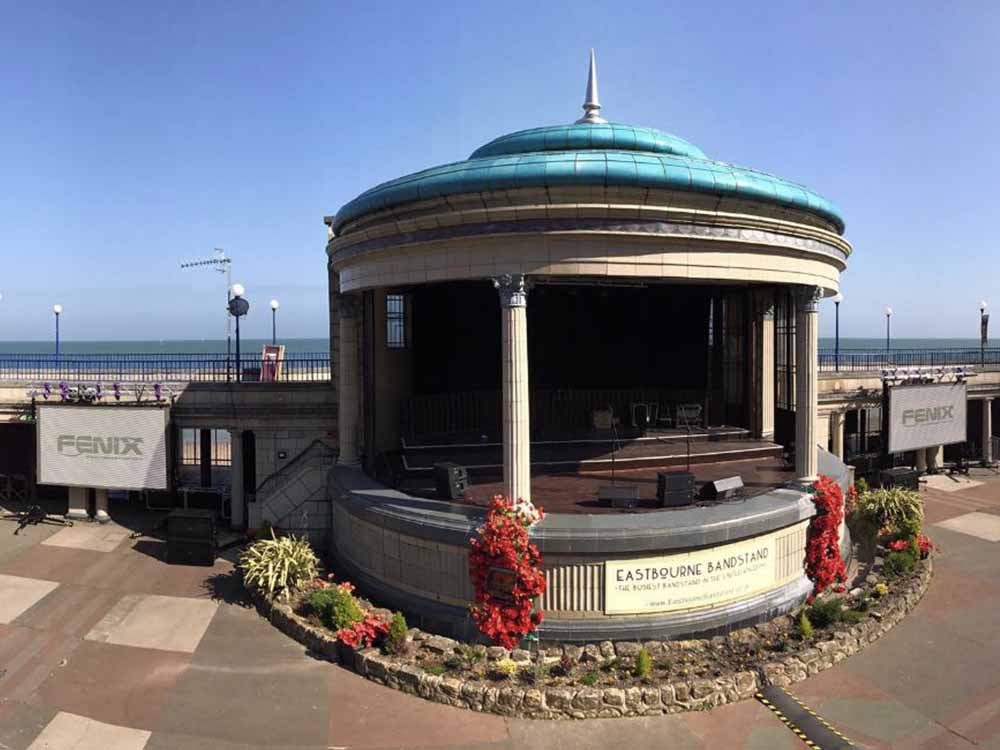 ABBA Tribute Show @ Eastbourne Bandstand, Eastbourne, East Sussex (UK)