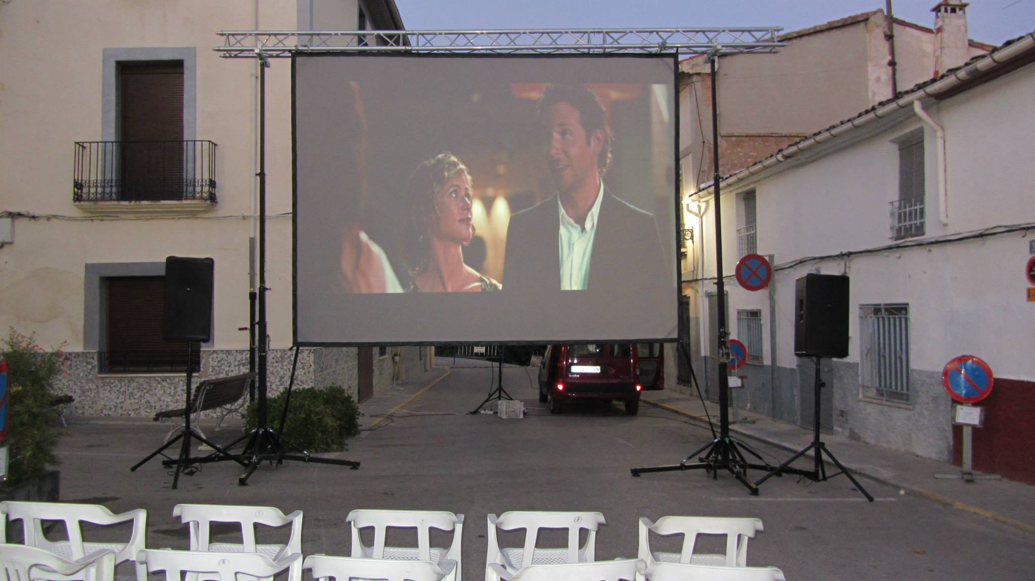 Summer Cinema @ Benamer, Alicante (Spain)
