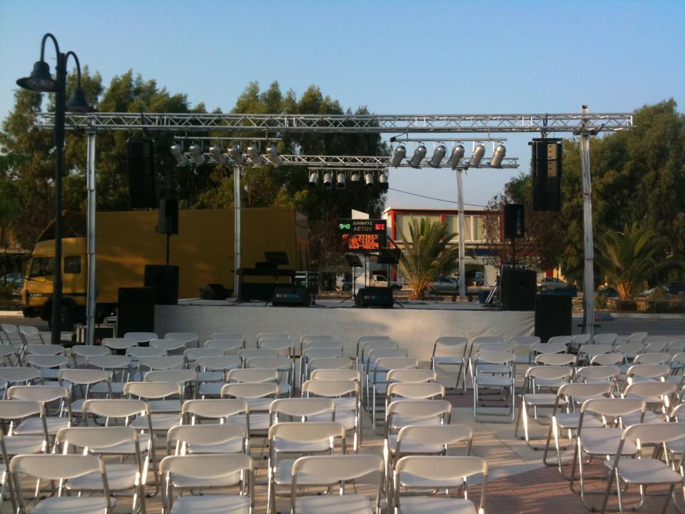 Outdoor concerts @ Kyparissia, Messina (Greece)