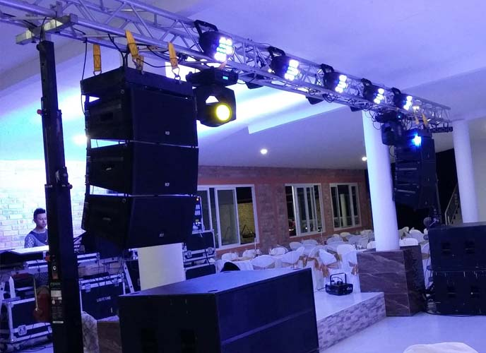 Disco for wedding @ (Colombia)
