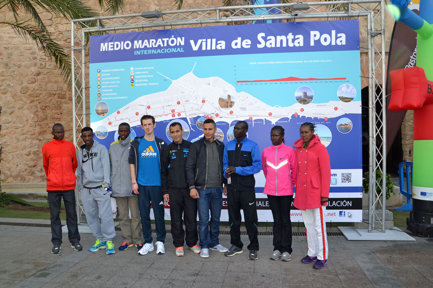 Half International Marathon @ Villa de Santa Pola, Alicante (Spain)