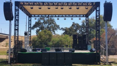Ramon Ayala's sound check @ The Wake House Bar n Grill,  Reedley, CA (USA)