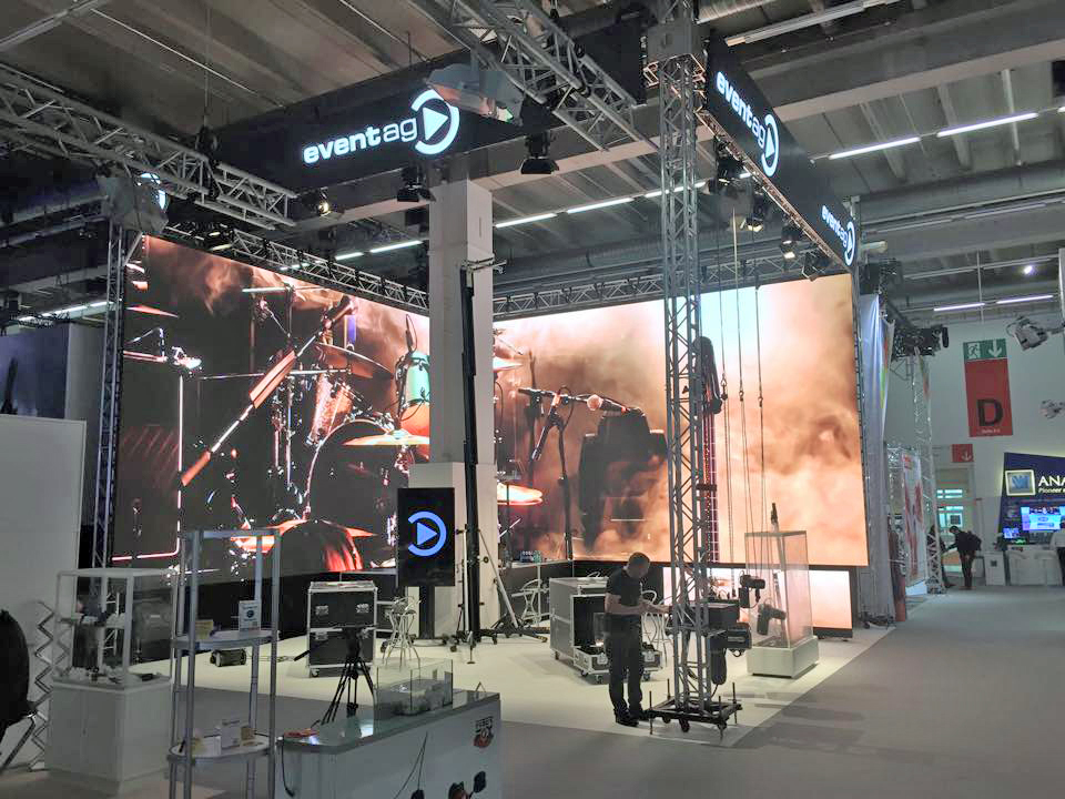 Event Ag booth Prolight & Sound 2015 @ Frankfurt (Germany)