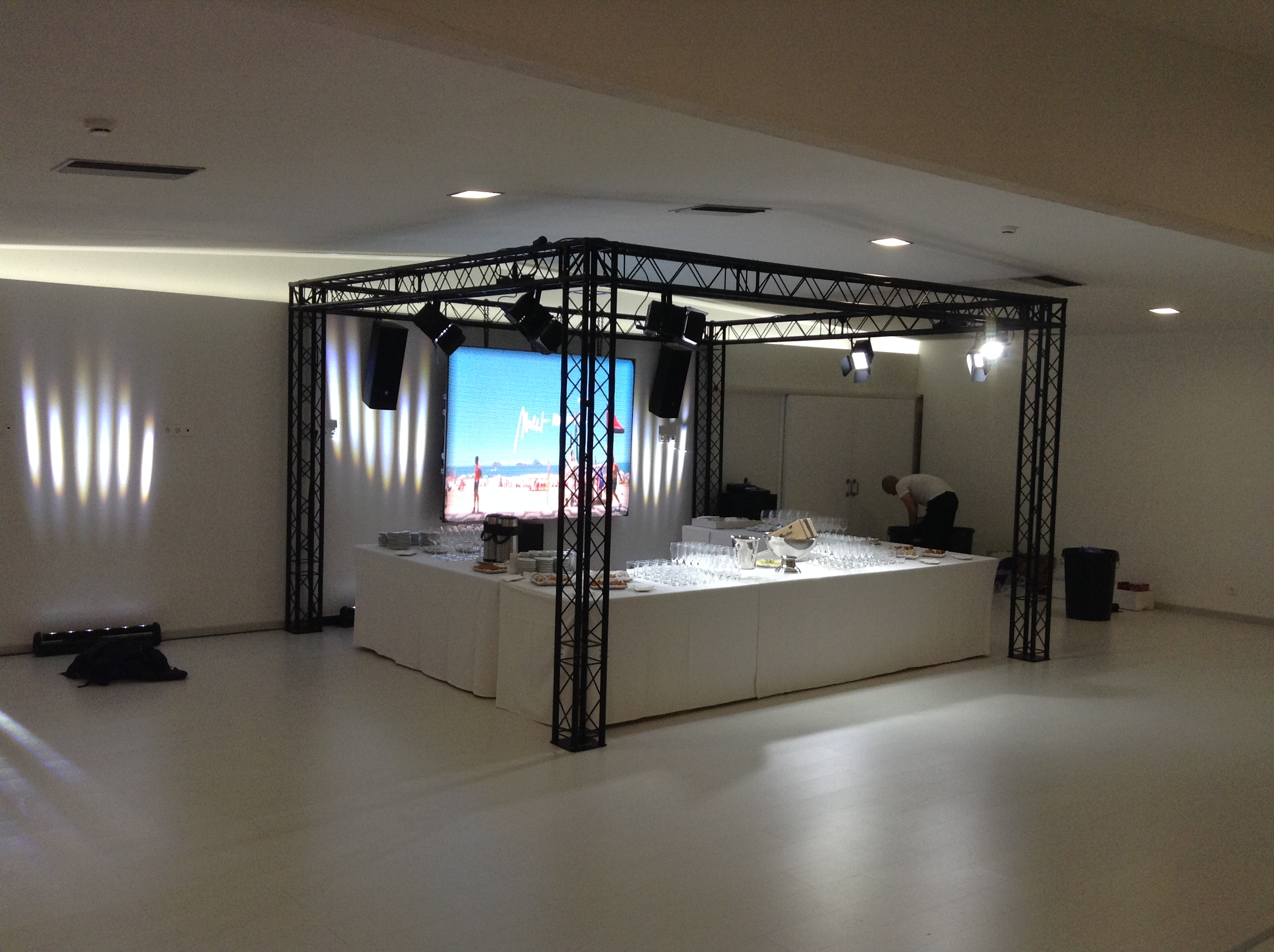 Stand pour mariage @ (Espagne)