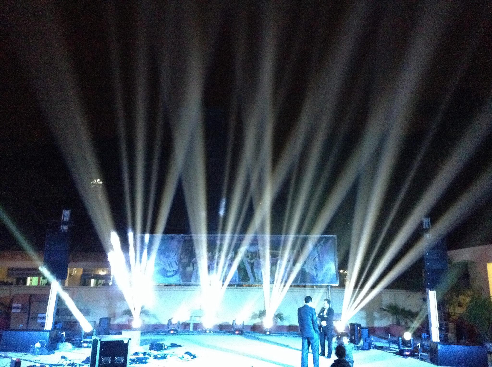 AT Towers with line-array @ Hanoi (Vietnam)